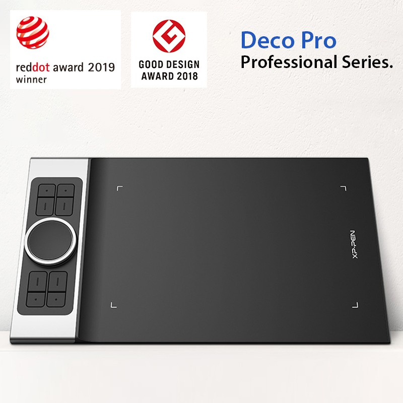 XP-PEN Deco Pro vence o prêmio Red Dot Design de 2019!