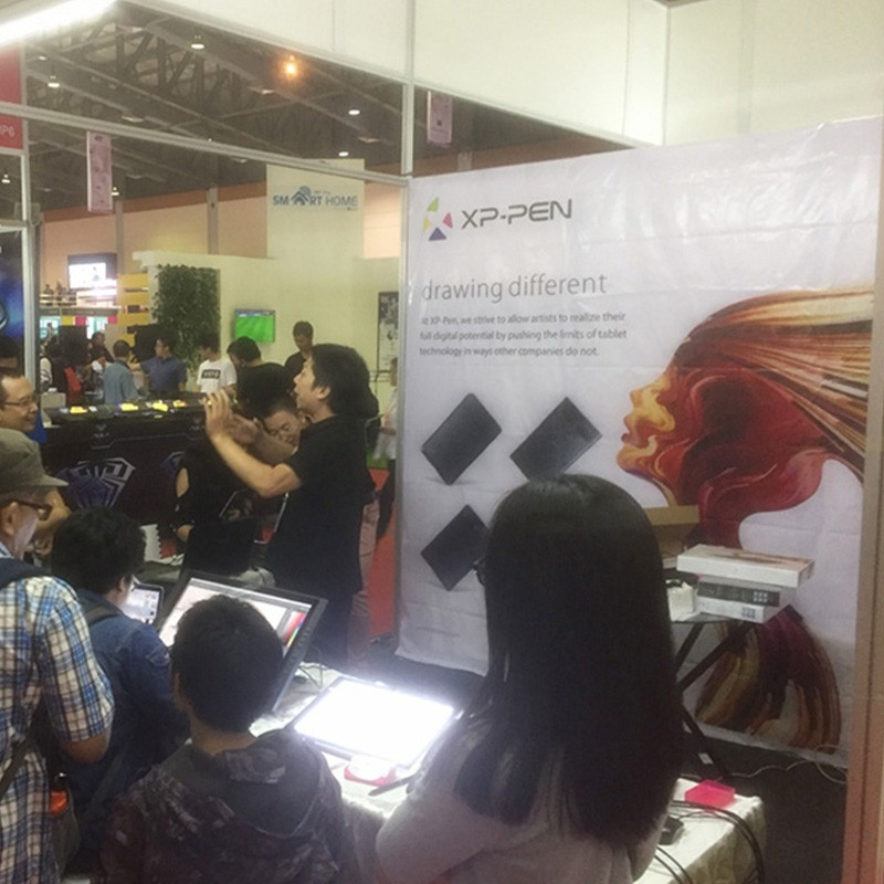 XP-PEN na Indocomtech Expo