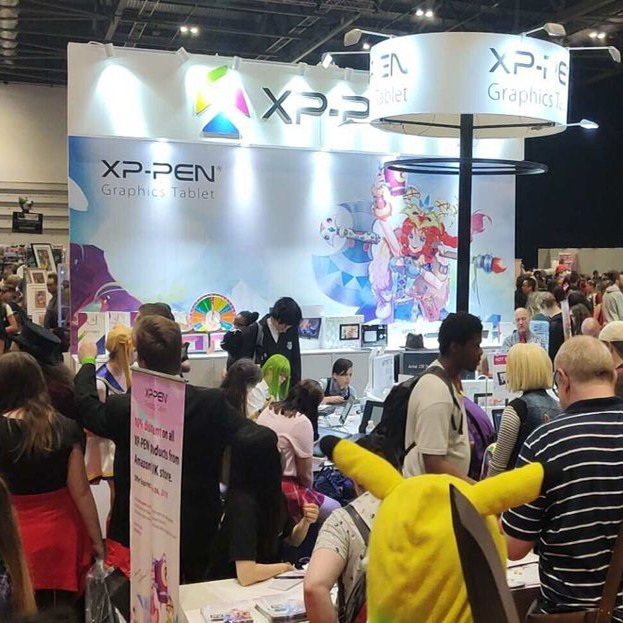 XP-PEN na MCM LONDON COMIC CON 2019